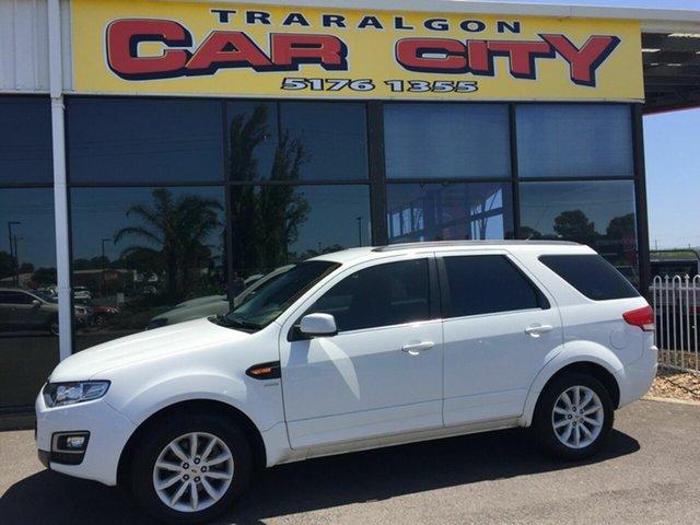 Used Ford Territory SZ MK2 TX (4x4), 2014 Ford Territory SZ MK2 TX (4x4) White 6 Speed Automatic Wagon