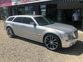 2008 Chrysler 300C MY09 LE Silver 5 Speed Automatic Wagon.