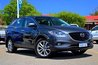 2013 Mazda CX-9 TB10A5 Luxury Activematic AWD Grey 6 Speed Sports Automatic Wagon