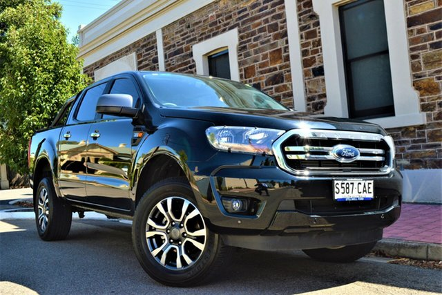 Used Ford Ranger PX MkIII 2019.00MY XLS Pick-up Double Cab, 2019 Ford Ranger PX MkIII 2019.00MY XLS Pick-up Double Cab Black 6 Speed Sports Automatic Utility