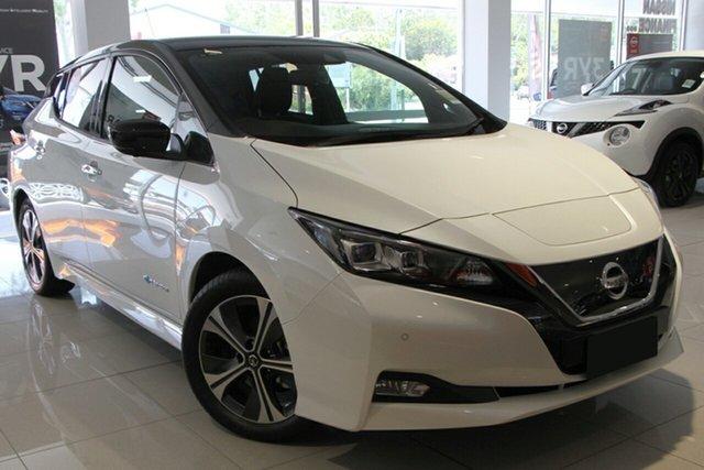 New Nissan Leaf ZE1 , 2019 Nissan Leaf ZE1 Arctic White 1 Speed Reduction Gear Hatchback