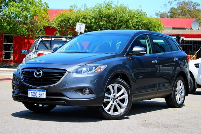 Used Mazda CX-9 TB10A5 Luxury Activematic AWD, 2013 Mazda CX-9 TB10A5 Luxury Activematic AWD Grey 6 Speed Sports Automatic Wagon