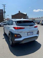 2019 Hyundai Kona OS.3 MY20 Highlander 2WD Chalk White 6 Speed Sports Automatic Wagon