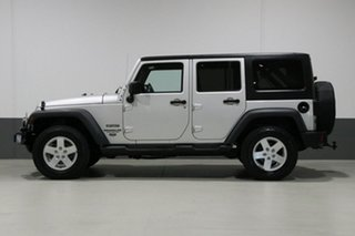 2011 Jeep Wrangler Unlimited JK MY11 Sport (4x4) Silver 6 Speed Manual Softtop