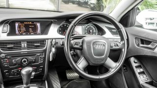 2012 Audi A4 B8 8K MY12 Multitronic White 8 Speed Constant Variable Sedan