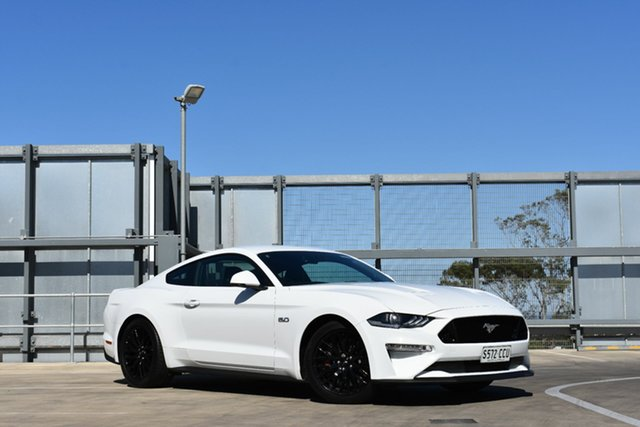 Demo Ford Mustang FN 2019MY GT Fastback RWD, 2018 Ford Mustang FN 2019MY GT Fastback RWD Oxford White 6 Speed Manual Fastback