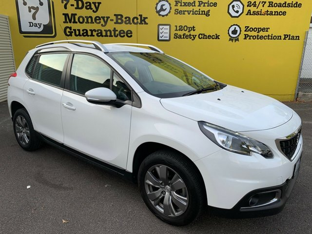 Used Peugeot 2008 A94 MY18 Active, 2018 Peugeot 2008 A94 MY18 Active White 6 Speed Sports Automatic Wagon