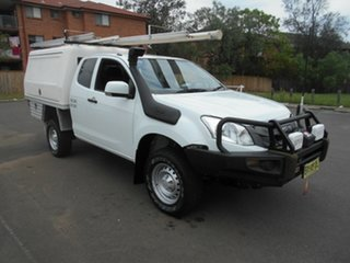 2013 Isuzu D-MAX TF MY12 SX (4x4) 5 Speed Manual Space Cab Chassis.