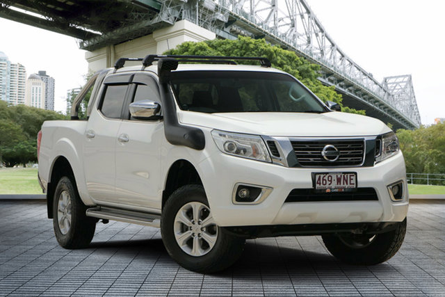 Used Nissan Navara D23 ST 4x2, 2015 Nissan Navara D23 ST 4x2 White 7 Speed Sports Automatic Utility