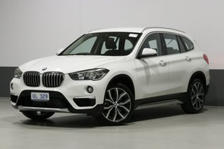 2018 BMW X1 F48 MY18 xDrive 25I White 8 Speed Automatic Wagon.