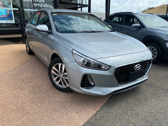 New Hyundai i30 PD2 MY19 Active, 2019 Hyundai i30 PD2 MY19 Active Silver 6 Speed Sports Automatic Hatchback