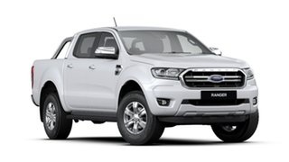 2019 Ford Ranger PX MkIII 2020.25MY XLT Pick-up Double Cab Arctic White 6 Speed Sports Automatic.