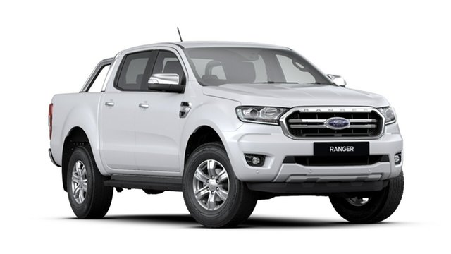 New Ford Ranger PX MkIII 2020.25MY XLT Pick-up Double Cab, 2019 Ford Ranger PX MkIII 2020.25MY XLT Pick-up Double Cab Arctic White 6 Speed Sports Automatic