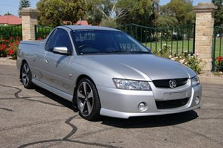 2007 Holden Commodore VZ SVZ Silver 6 Speed Manual Utility.