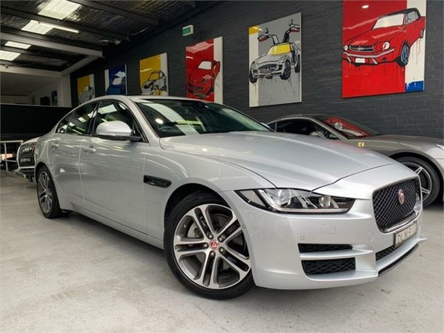 Used Jaguar XE X760 20t Prestige, 2017 Jaguar XE X760 20t Prestige Silver Sports Automatic Sedan