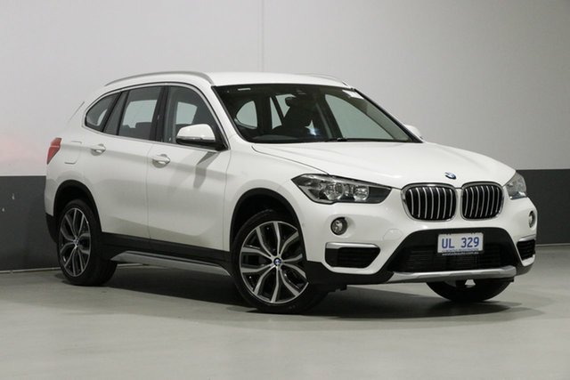 Used BMW X1 F48 MY18 xDrive 25I, 2018 BMW X1 F48 MY18 xDrive 25I White 8 Speed Automatic Wagon