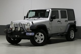 2011 Jeep Wrangler Unlimited JK MY11 Sport (4x4) Silver 6 Speed Manual Softtop.