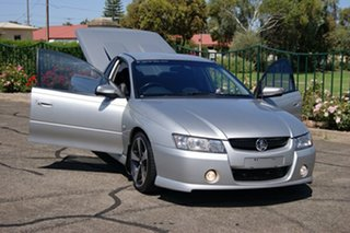2007 Holden Commodore VZ SVZ Silver 6 Speed Manual Utility