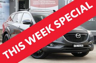 2015 Mazda CX-9 MY14 Luxury (FWD) Grey 6 Speed Auto Activematic Wagon.