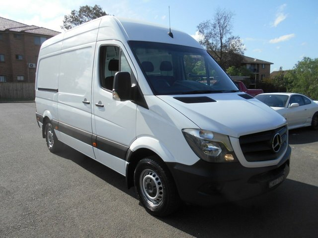 Used Mercedes-Benz Sprinter 906 MY14 313 CDI MWB, 2017 Mercedes-Benz Sprinter 906 MY14 313 CDI MWB 7 Speed Automatic Van