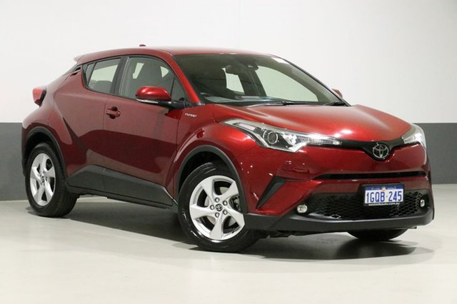 Used Toyota C-HR NGX10R Update (2WD), 2018 Toyota C-HR NGX10R Update (2WD) Red Continuous Variable Wagon