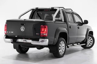 2016 Volkswagen Amarok 2H MY16 TDI420 4Motion Perm Highline Black 8 Speed Automatic Utility.