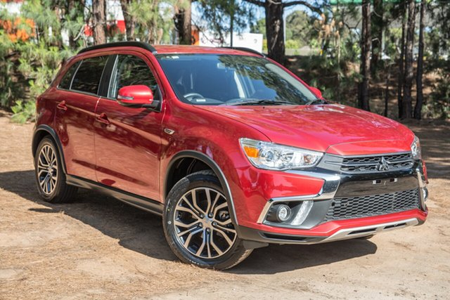 Used Mitsubishi ASX XC MY19 ES 2WD, 2018 Mitsubishi ASX XC MY19 ES 2WD Red 6 Speed Constant Variable Wagon