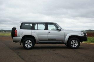 2008 Nissan Patrol GU VI ST (4x4) Silver 4 Speed Automatic Wagon.