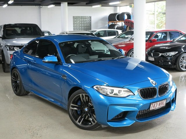 Used BMW M2 F87 , 2016 BMW M2 F87 Long Beach Blue 6 Speed Manual Coupe