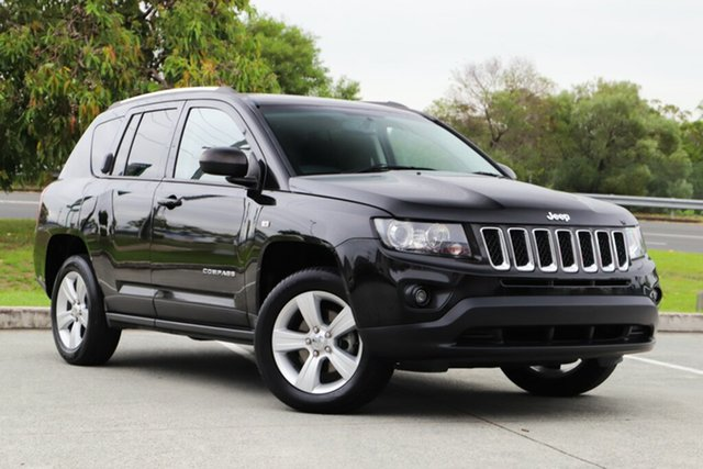 Used Jeep Compass MK MY13 Sport CVT Auto Stick, 2013 Jeep Compass MK MY13 Sport CVT Auto Stick Black/Grey 6 Speed Constant Variable Wagon