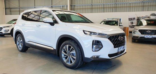New Hyundai Santa Fe TM.2 MY20 Elite, 2019 Hyundai Santa Fe TM.2 MY20 Elite White Cream 8 Speed Sports Automatic Wagon