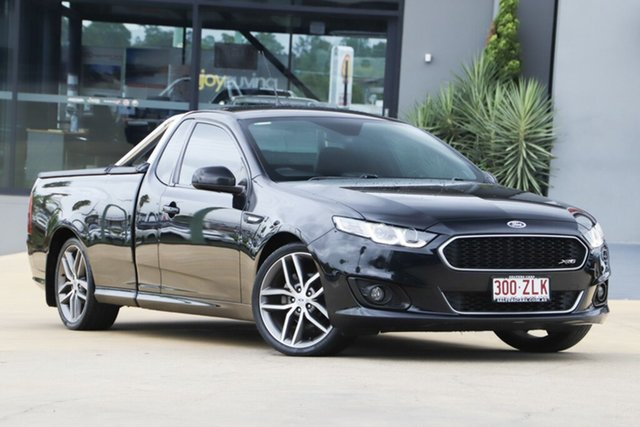 Used Ford Falcon FG X XR6 Ute Super Cab, 2015 Ford Falcon FG X XR6 Ute Super Cab Black 6 Speed Sports Automatic Utility