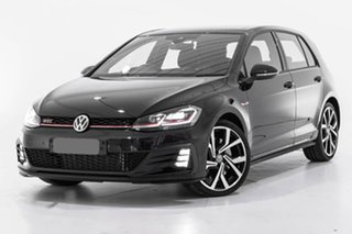 2019 Volkswagen Golf 7.5 MY19.5 GTI DSG Black 7 Speed Sports Automatic Dual Clutch Hatchback.