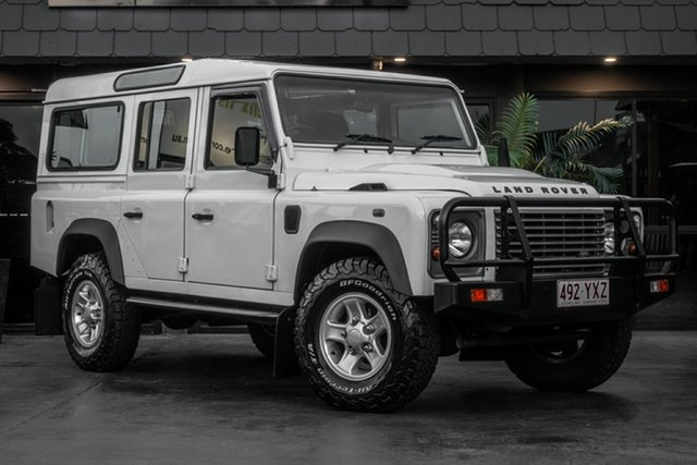 Used Land Rover Defender 110 13MY , 2013 Land Rover Defender 110 13MY White 6 Speed Manual Wagon