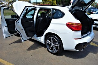 2016 BMW X1 F48 xDrive25i Steptronic AWD White 8 Speed Sports Automatic Wagon