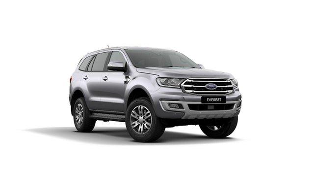 New Ford Everest UA II 2019.75MY Trend 4WD, 2019 Ford Everest UA II 2019.75MY Trend 4WD Aluminium 10 Speed Sports Automatic Wagon