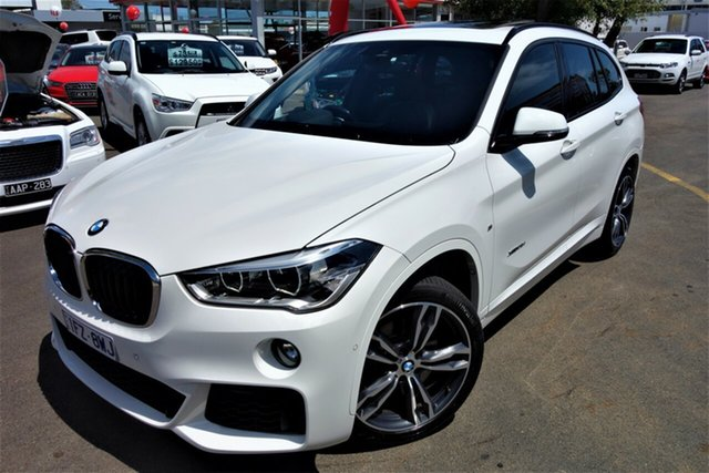 Used BMW X1 F48 xDrive25i Steptronic AWD, 2016 BMW X1 F48 xDrive25i Steptronic AWD White 8 Speed Sports Automatic Wagon