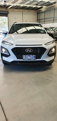 2019 Hyundai Kona OS.3 MY20 Active D-CT AWD Chalk White 7 Speed Sports Automatic Dual Clutch Wagon.