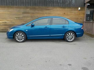 2010 Honda Civic 8th Gen MY10 VTi-L Blue 5 Speed Automatic Sedan
