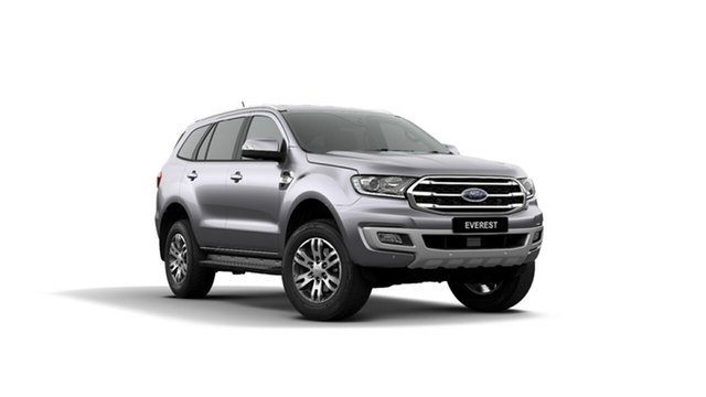 New Ford Everest UA II 2019.75MY Trend 4WD, 2019 Ford Everest UA II 2019.75MY Trend 4WD Aluminium 10 Speed Sports Automatic Wagon