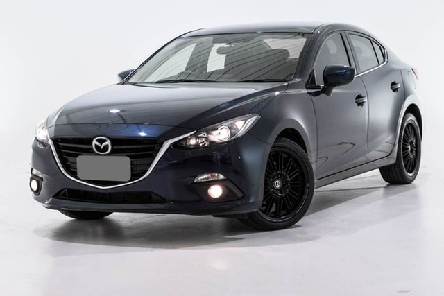 Used Mazda 3 BM5238 SP25 SKYACTIV-Drive, 2014 Mazda 3 BM5238 SP25 SKYACTIV-Drive Blue 6 Speed Sports Automatic Sedan
