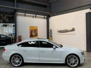 2014 Audi A5 8T MY15 Sportback S Tronic Quattro White 7 Speed Sports Automatic Dual Clutch Hatchback