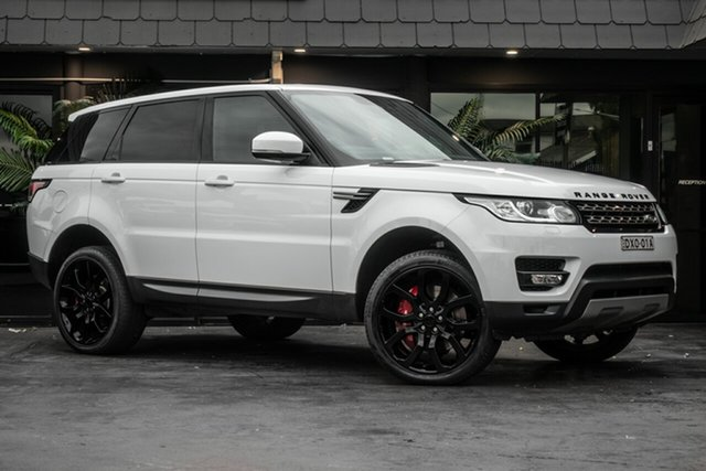 Used Land Rover Range Rover Sport L494 MY14.5 SE, 2014 Land Rover Range Rover Sport L494 MY14.5 SE White 8 Speed Sports Automatic Wagon