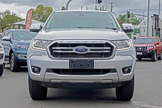 2018 Ford Ranger PX MkIII 2019.00MY XLT Pick-up Double Cab 4x2 Hi-Rider Silver 6 Speed.
