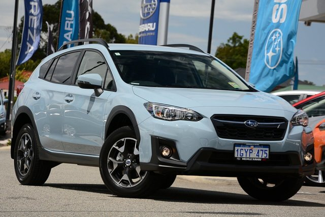 Demo Subaru XV G5X MY19 2.0i-L Lineartronic AWD, 2019 Subaru XV G5X MY19 2.0i-L Lineartronic AWD Cool Grey Khaki 7 Speed Constant Variable Wagon