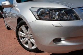 2009 Honda Accord 8th Gen V6 Luxury Silver 5 Speed Sports Automatic Sedan.