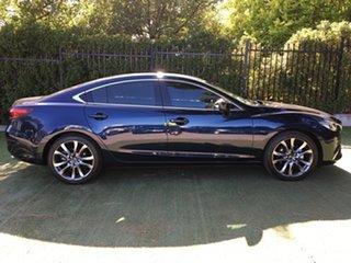 2017 Mazda 6 GL1021 Atenza SKYACTIV-Drive Blue 6 Speed Sports Automatic Sedan.