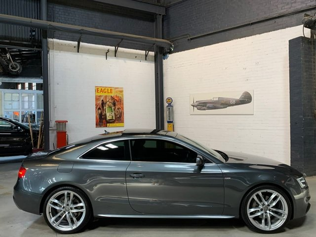Used Audi A5 8T MY14 S Line S Tronic Quattro Competition, 2014 Audi A5 8T MY14 S Line S Tronic Quattro Competition Grey 7 Speed Sports Automatic Dual Clutch