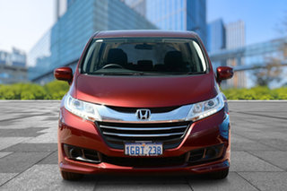 2016 Honda Odyssey RC MY16 VTi Red 7 Speed Constant Variable Wagon