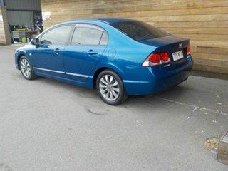 2010 Honda Civic 8th Gen MY10 VTi-L Blue 5 Speed Automatic Sedan